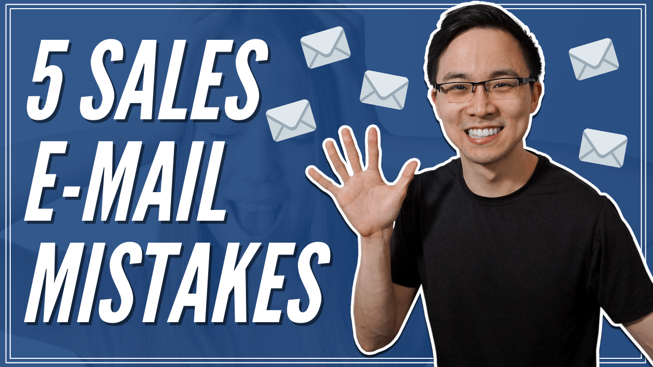 5 Common Sales Email Mistakes to Avoid