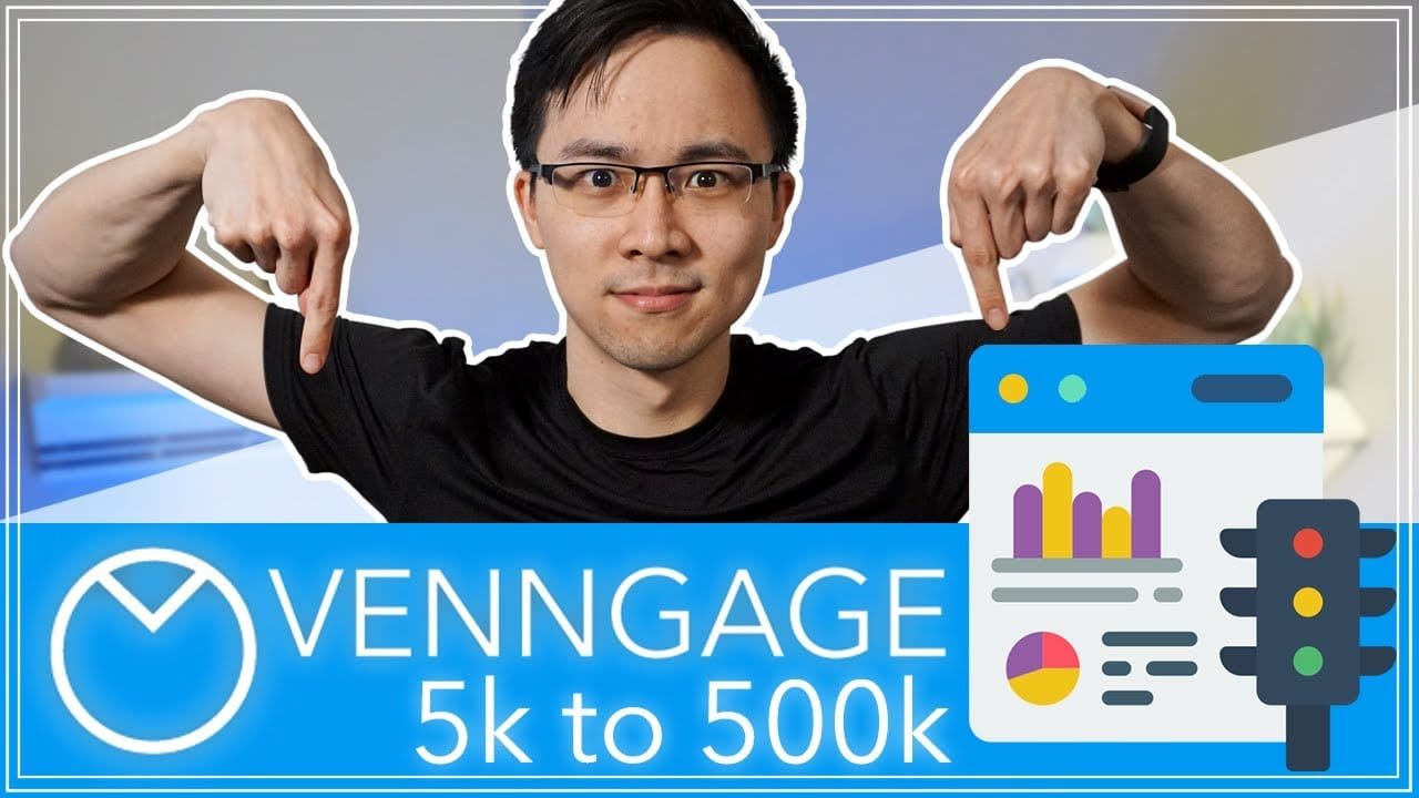 How Venngage Grew from 5K to 500K Monthly Organic Traffic in 5 Years