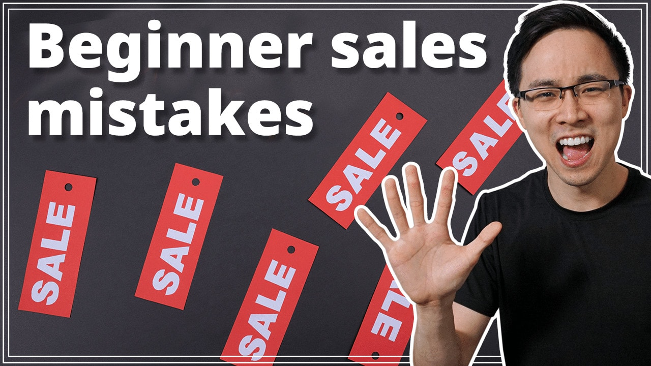 5 Mistake I Made My First Year in Sales