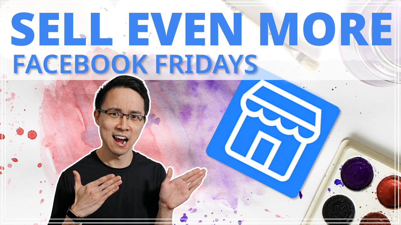 How to Sell EVEN MORE on Facebook Marketplace _ Reviewing 6 🖼 Art Listings (Ep. 4)